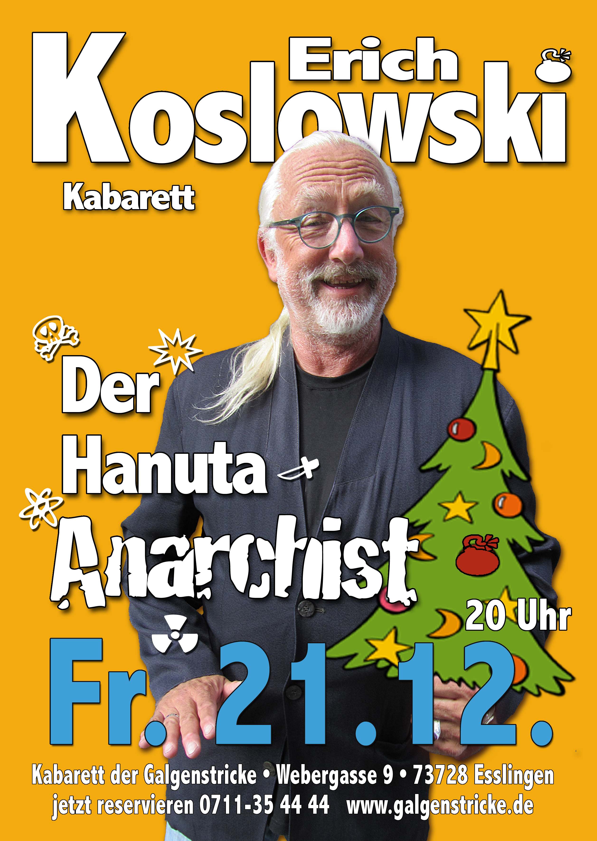 ERICH KOSLOWSKI Kabarett | Die Profiltiefe ist eine Frage des Reifens